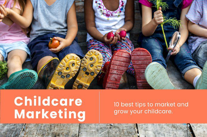 10 TIPS for Marketing Childcare